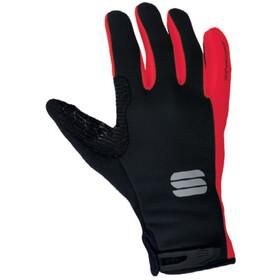Sportful WS Essential 2 Guanti, nero/rosso